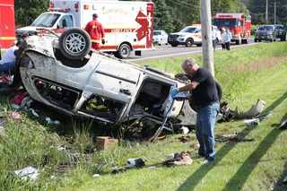 Driver identified in Wilson rollover crash