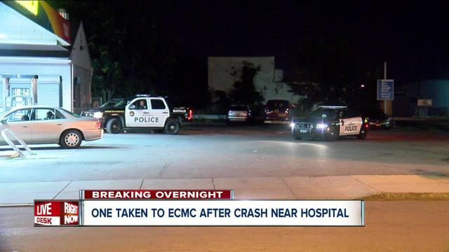 Buffalo police investigating overnight hit and run