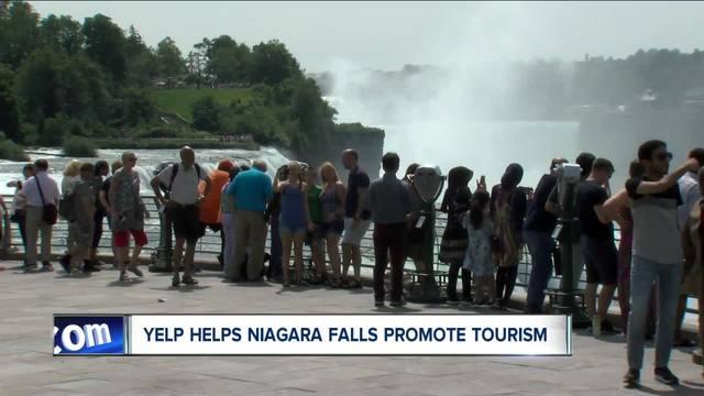 Niagara Falls Working with Popular Site -Yelp-