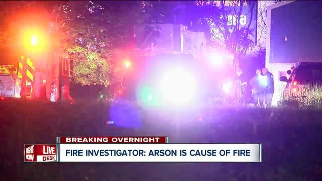 Buffalo firefighters believe overnight fire is arson