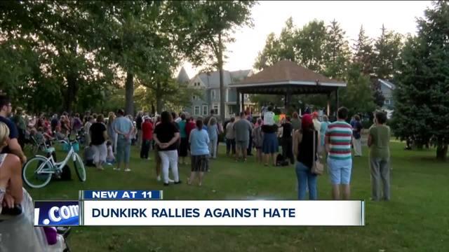 Dunkirk rallies against hate
