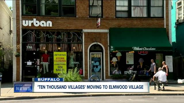 Ten Thousand Villages moving to Buffalo-s Elmwood Village