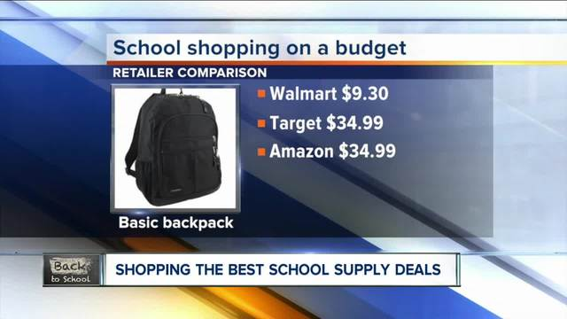 Bargain hunting school supplies for 2017-