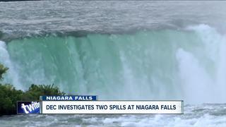 DEC investigating two spills at Niagara Falls
