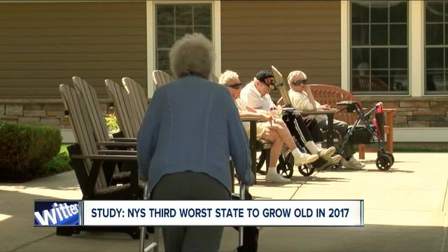 New York ranked 3rd worse place to grow old