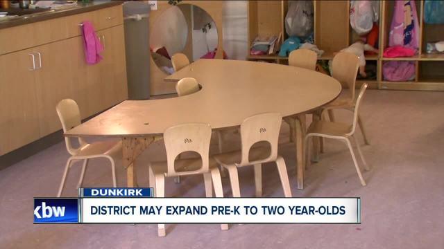 Dunkirk Schools expands Pre-K program for younger kids