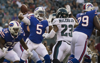 Bills fall to 0-2 in preseason with 20-16 loss