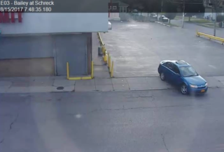Picture of car released in city stranger danger