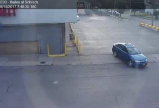 Picture of car released in city stranger danger