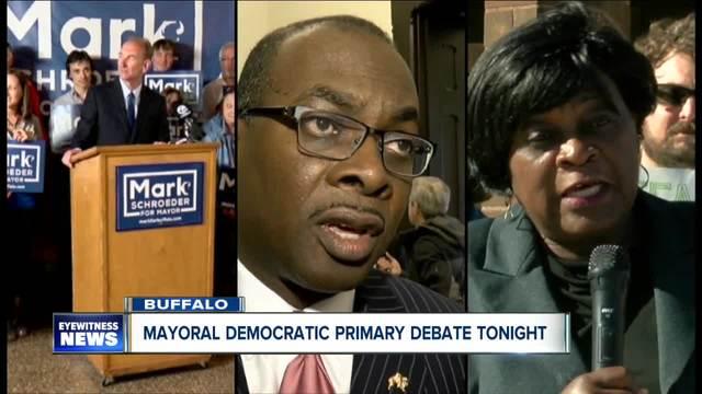 Buffalo mayoral candidates debate