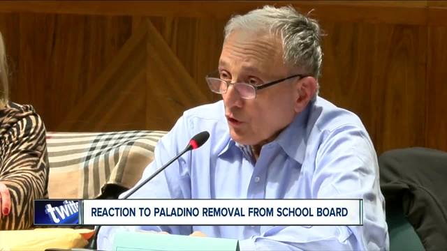 Carl Paladino removed from school board