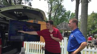 Michael Bombardier goes live with weather