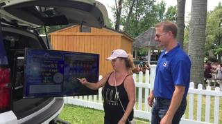 Ceci Thrasher goes live with weather