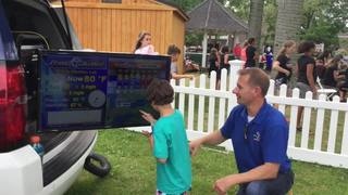 Peyton Wilmore goes live with weather