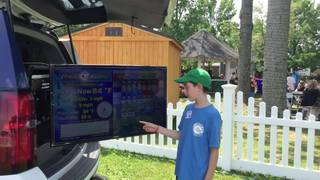 Brennan Dullen goes live with weather