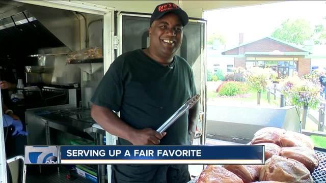 Former Buffalonian serves up North Carolina BBQ at The Fair