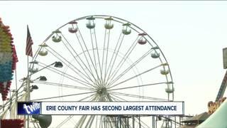 Second-highest Erie Co. Fair attendance