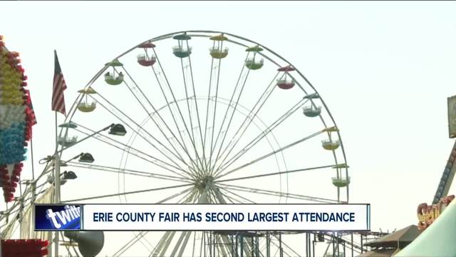 Second-highest Erie Co- Fair attendance
