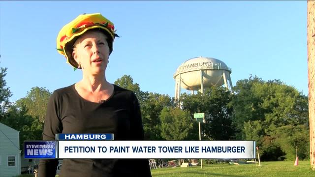 Tasty makeover possible for Hamburg water tower