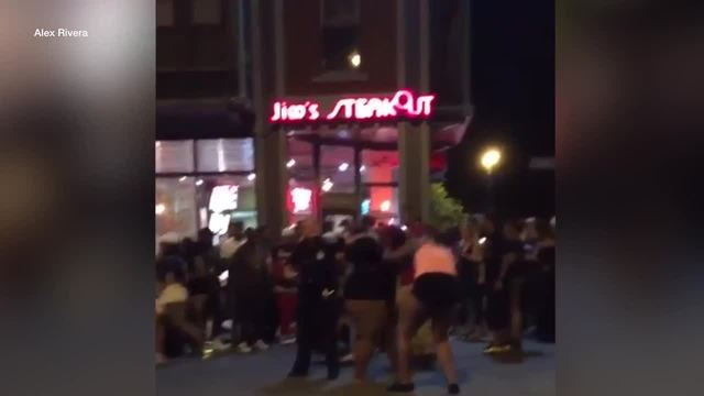 Buffalo Police say they made no arrests after a street fight early…