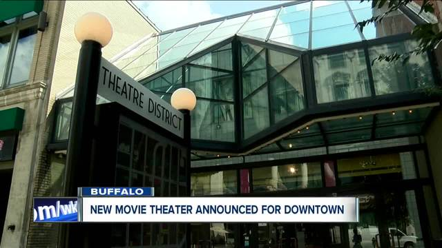 Will a movie theater succeed in downtown Buffalo-