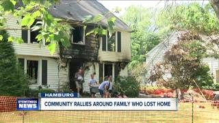 Community Rallies Around Family Who Lost Home