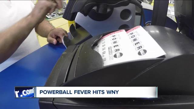Powerball tickets sales