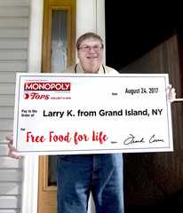 Tops awards food for life to Grand Island man
