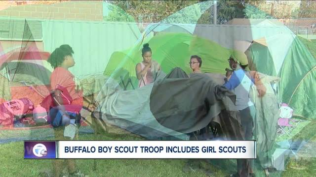 Buffalo Boy Scouts troop includes Girl Scouts in annual