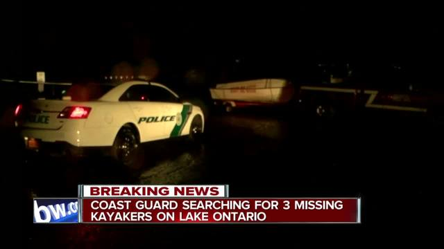 US Coast Guard searching for missing kayakers on Lake Ontario