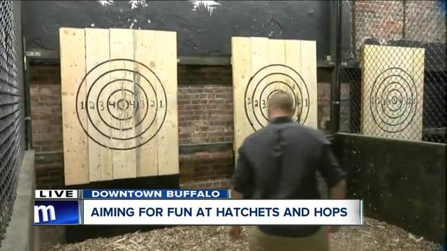 Hatchets and Hops offers unique- rustic experience