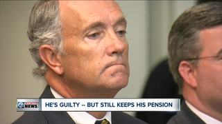 Black is guilty -- but still keeps his pension