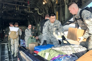 Niagara Airmen help with hurricane relief