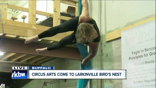 A new way to work out- Circus arts at the Bird-s Nest