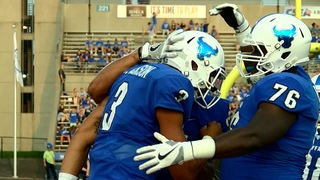 UB Football gets first win of 2017 season