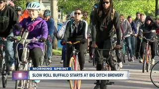 Slow Roll Buffalo meets at Big Ditch