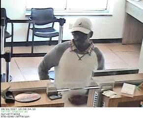 One man may be behind a string of bank robberies