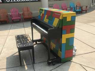 Painted pianos spread message of hope