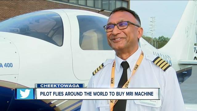 WNY Pilot flies plane around the globe