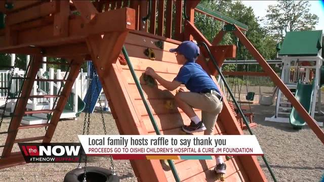 Win a playground- One little boy-s special way to say thank you