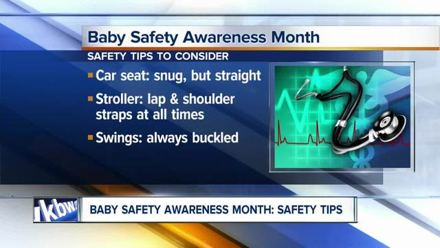 Safety tips to consider during Baby Safety Awareness month