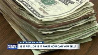 Here's how to keep fake money out of your wallet