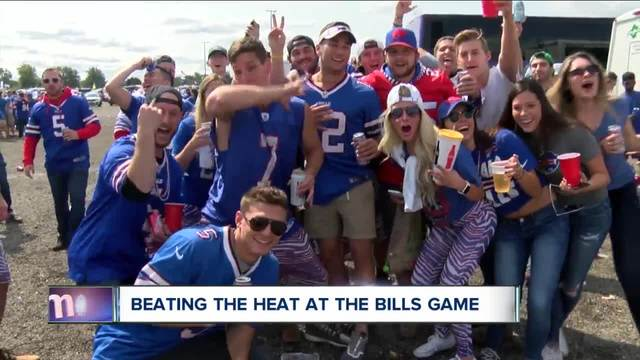 Near record temperatures expected for Bills game