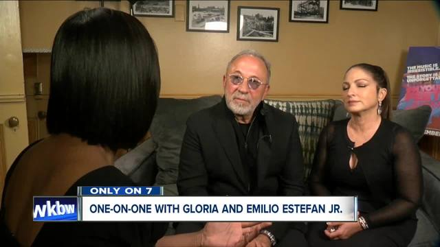 Liz Lewin sits down with powerhouse duo Emilio and Gloria Estefan at Shea-s