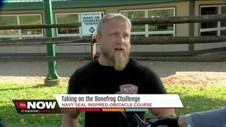 Navy Seal for the Day: The Bonefrog Challenge