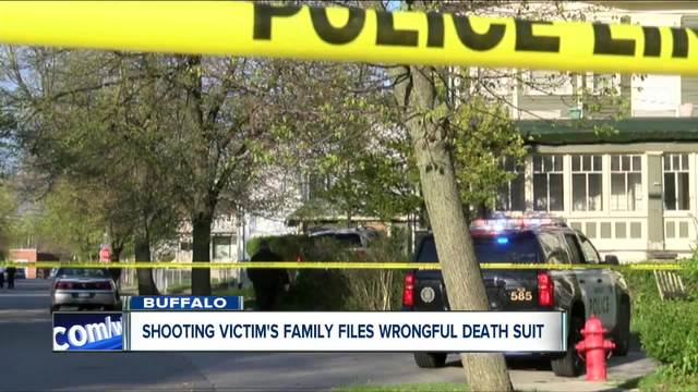 Shooting victim-s family files wrongful death suit