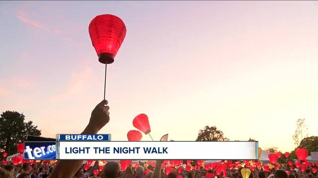 Light the Night raises money for a cure