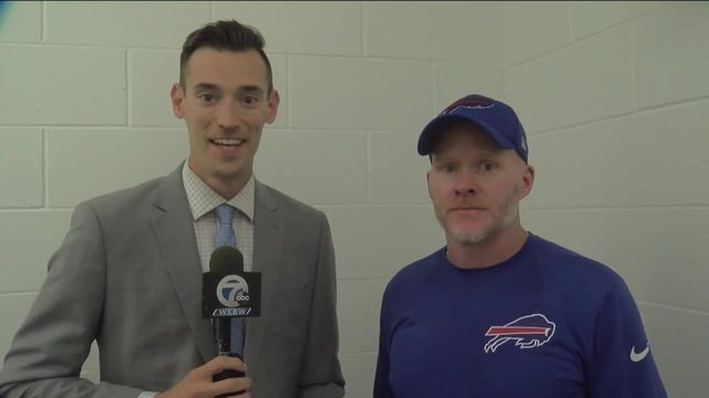 1-on-1 with Bills HC Sean McDermott and 7ABC-s Joe B- -9-24-17-