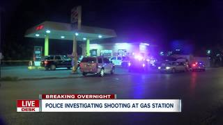 Police investigating shooting at Express Mart