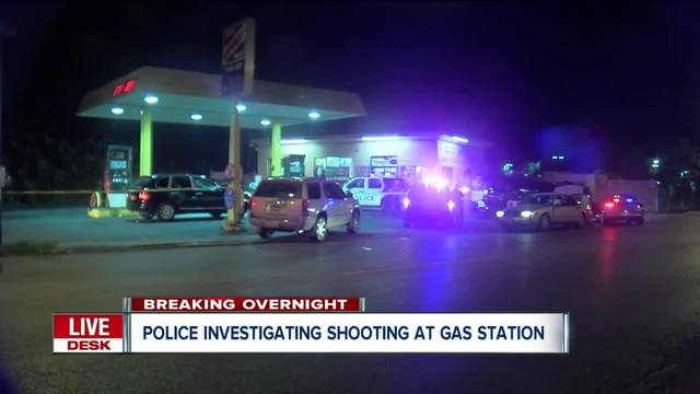 Police investigating shooting at gas station in Buffalo